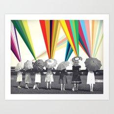 Modern women Art Print