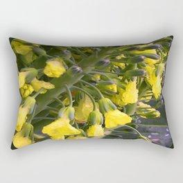 Flowerettes Rectangular Pillow