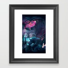 grotto Framed Art Print