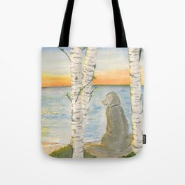 Shoreline Doggy Daze Tote Bag