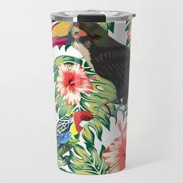 Tropical Birds of Paradise Design 1 Travel Mug