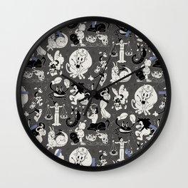 Zodiac Toons Wall Clock