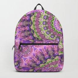 Vibrant Fractal Kaleidoscope 2 Backpack