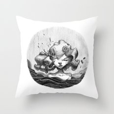 Lacrymosa Throw Pillow