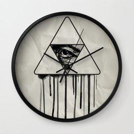 Pythagoras's therapy 02 Wall Clock