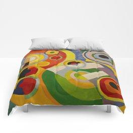"""Robert Delaunay """"Rythme, Joie de vivre"""" Comforters"""