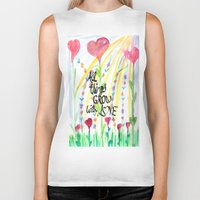 love quotes Biker Tanks featuring Love Quotes by Just Creative Julia