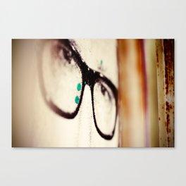 Wide Eyes Canvas Print