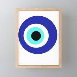 Blue Eye Framed Mini Art Print