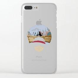 Luffy VS Doflamingo Clear iPhone Case