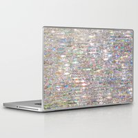 hologram Laptop & iPad Skins featuring To Love Beauty Is To See Light (Crystal Prism Abstract) by soaring anchor designs