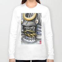 samurai Long Sleeve T-shirts featuring Samurai by rchaem