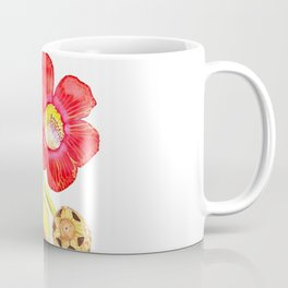 Cannonball tree flower Coffee Mug