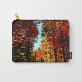 Fall Forest Road Carry-All Pouch