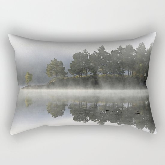 Reflections of a mood Rectangular Pillow