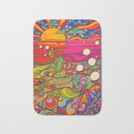 Psychedelic Art Bath Mat