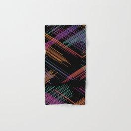 Colored Lines Hand & Bath Towel