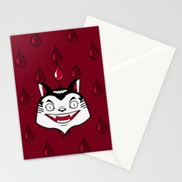 Count Dracula Von Kitteh Stationery Cards