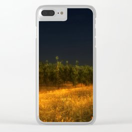 Shiver and Hesitation Clear iPhone Case