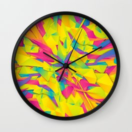 Bubble Gum Explosion Wall Clock