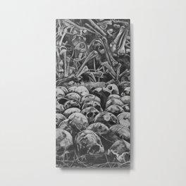 Bone Pile Metal Print