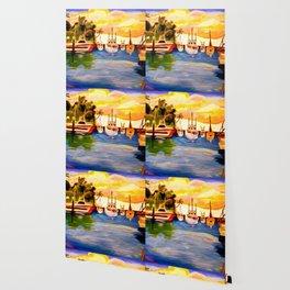 Lahaina Harbor Sunset Wallpaper