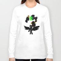 homestuck Long Sleeve T-shirts featuring Homestuck Wheel by Darkerin Drachen
