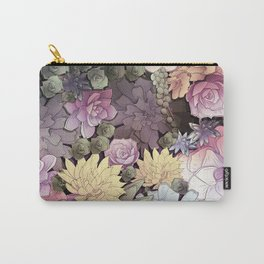 Pastel Nature Carry-All Pouch