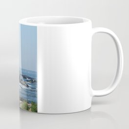 Nubble Lighthouse Maine Beach Coffee Mug