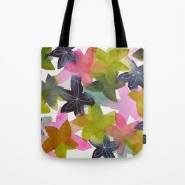 Kaleidoscope of Petals Tote Bag