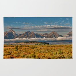 The Grand Tetons Panorama Rug