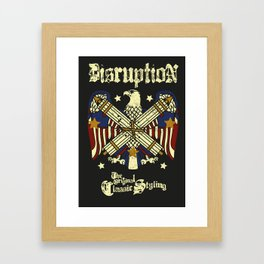 "Man Men's Unisex Graphic Print T-Shirt ""Classic Style"" Shirt Tee Cotton Framed Art Print"
