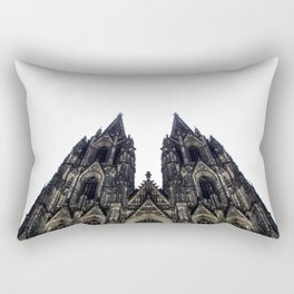 cologne cathedral. Rectangular Pillow