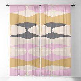 Zaha Dama Sheer Curtain