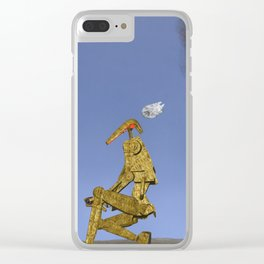 War Stars: Smokie out Clear iPhone Case