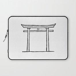 Torii door Laptop Sleeve