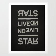 Palindrome: Rats Live On... Art Print