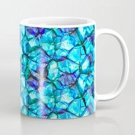 Blue crystal gem Coffee Mug