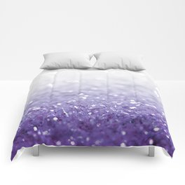 MERMAIDIANS PURPLE GLITTER Comforters