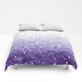 MERMAIDIANS PURPLE GLITTER Comforters