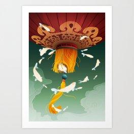 Legends of Nature Art Print