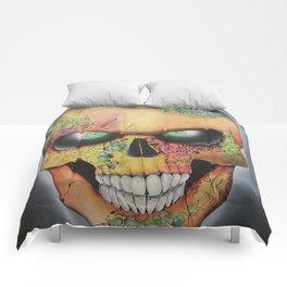 Mrs. skull Comforters