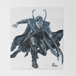 Loki Throw Blanket