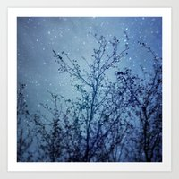 heaven Art Prints featuring Heaven by The Last Sparrow