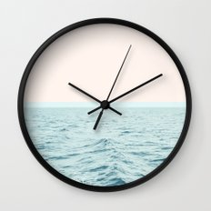 Sea Breeze #society6 #decor #style #tech Wall Clock