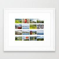 scotland Framed Art Prints featuring Scotland by Basma Gallery