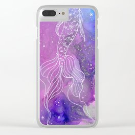 Mystic Waters Clear iPhone Case