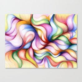 Colour Forming Canvas Print