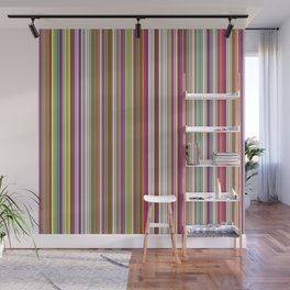 Stripes & stripes Wall Mural