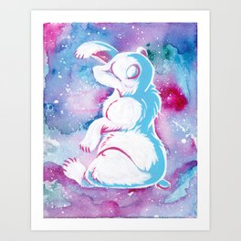 Whimsical Bear Art Print